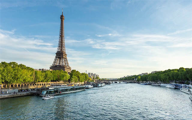 Seine River  Themes & New Tab