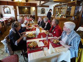Photo: Frokost på Gasthaus Krancher