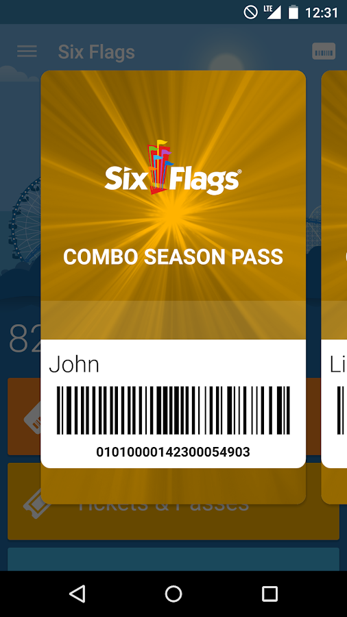 You can visit the Six Flags website for a complete list of food available and where you can find it. My verdict: The Six Flags dining pass is TOTALLY worth it for my family. On our most recent visit to White Water we stayed for SEVEN HOURS.