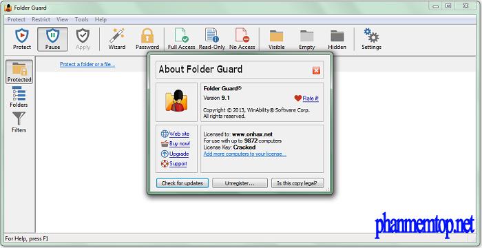 Folder Guard Free Download