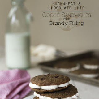 Buckwheat & Brandy Cookie Sandwiches
