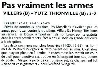 Photo: 21-01-2012 R1M Villers - ASVB 3-0