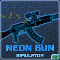 Neon Gun Siumulator icon