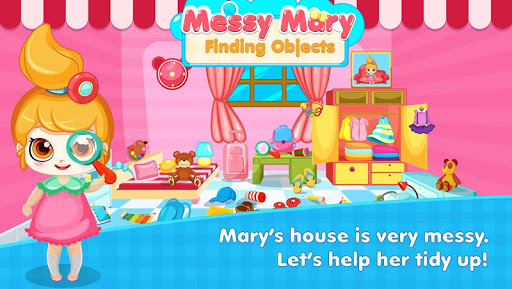 Messy Mary - Kid Game