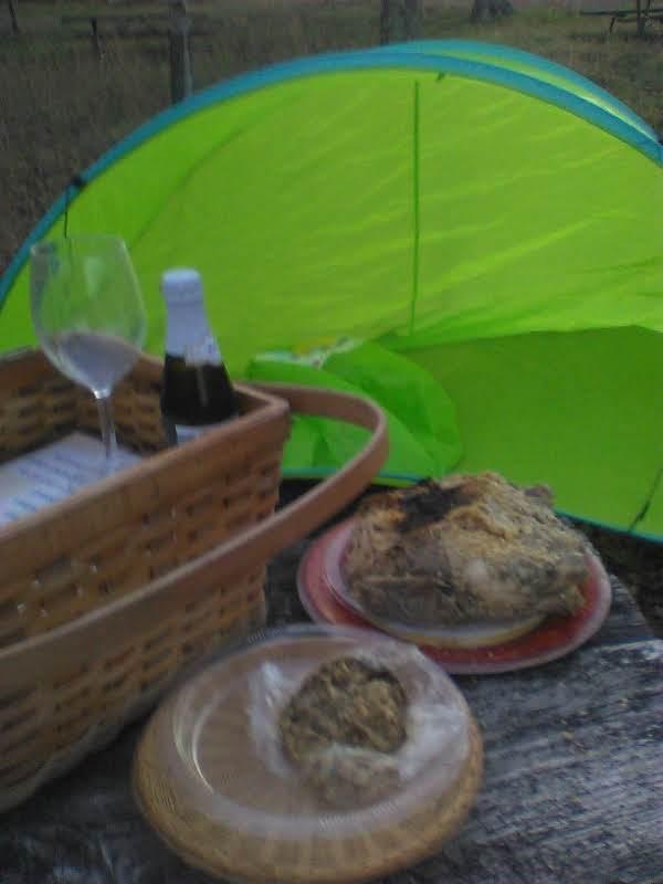 No bake Turkey, A.S.A.P. @ camp