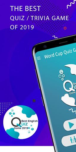 Best English Trivia Quiz Game 2019 1.0.2 screenshots 1