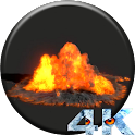 Explosion Video Wallpaper icon