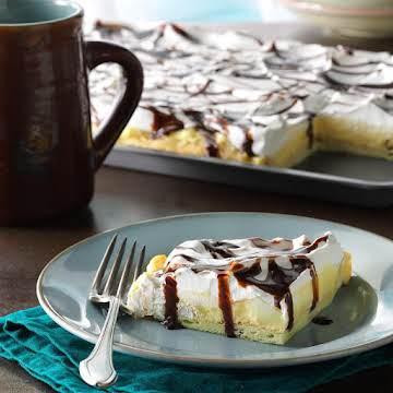 Vanilla Cream Puff Dessert