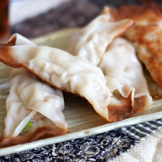 Pork, Cabbage and Ginger Potstickers