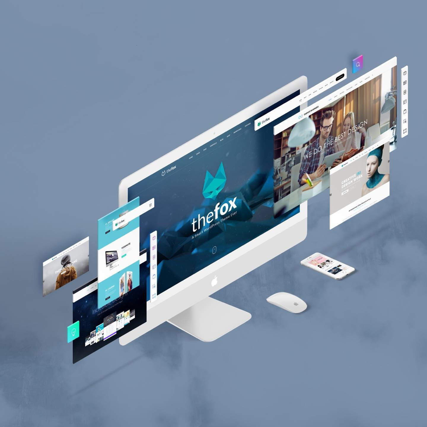 thefox wordpress theme