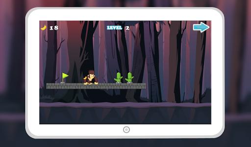 Monkey Jungle Run Dash screenshot 7