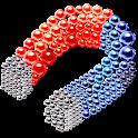 Magnetic Balls Magnet Game Bubble Battle 3d puzzle icon