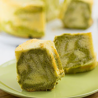 Matcha Marble Chiffon Cake
