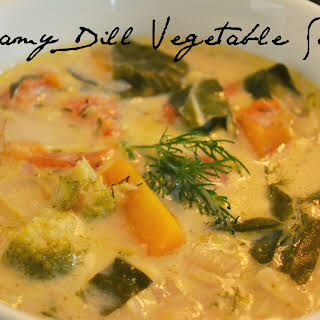 Creamy Dill Vegetable Soup.