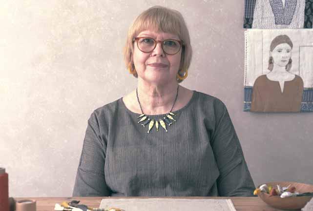 Textile Artist Sue Stone