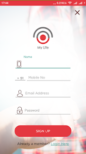 My Life Story App - náhled