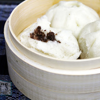 Chinese Steamed Red Bean Buns.