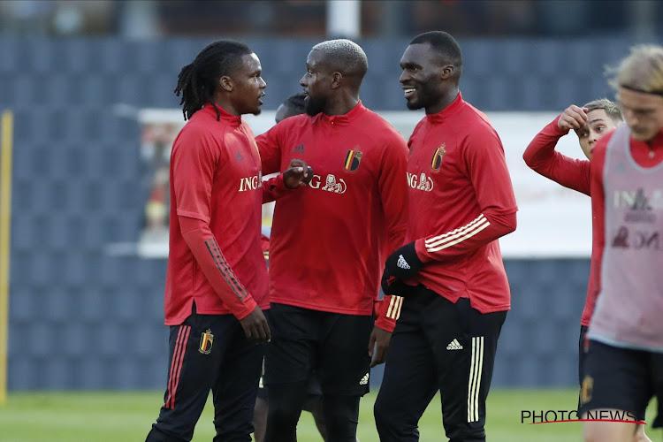 """""""Me montrer quand j'en ai l'occasion"""": Christian Benteke évoque la concurrence avec Romelu Lukaku"""