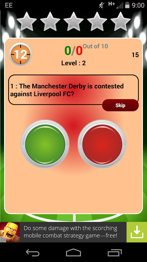 The Big Manchester United Quiz- screenshot