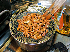 Photo: fried cashews