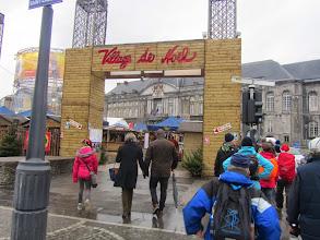 Photo: komen voorbij de kerstmarkt, zullen we straks wel eventjes bezoeken