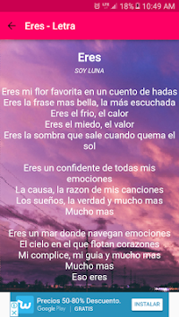 Download Songs Of I Am Moon In Lyrics Music Of Soy Luna Apk Latest