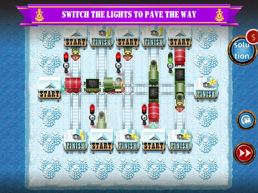 Rail Maze 2 : Train puzzler  gameplay | by HackJr.Pw 16
