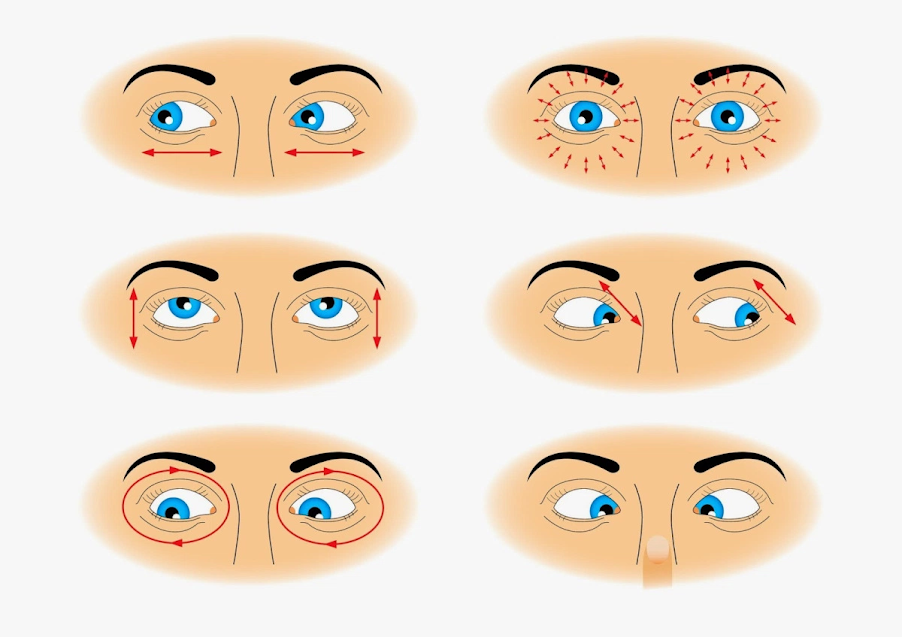 Simple and relaxing exercises for your eye strain