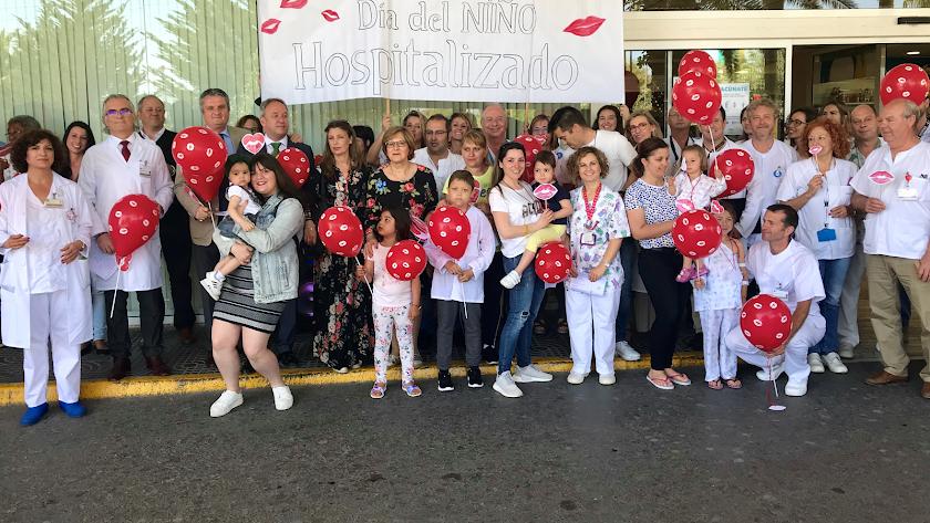 Torrecárdenas ha conmemorado el Día del Niño Hopitalizado.