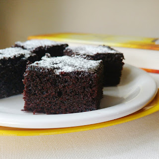 Eggless Chocolate Snack Cake