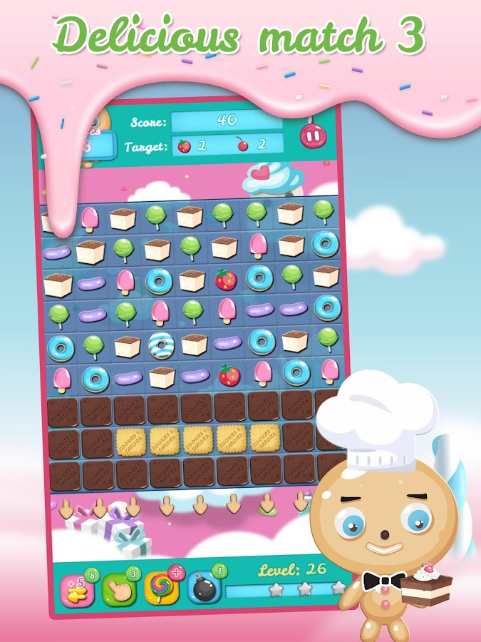 Cookies and Candies- screenshot