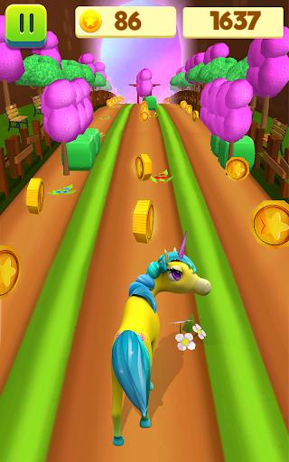 Unicorn Run - Runner Games 2020 filehippodl screenshot 4
