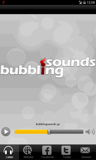 Bubbling Sounds