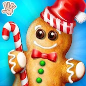 Ginger Bread Man Cookie Maker Bakery Chef