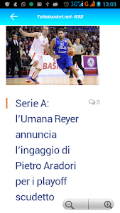 Tutto Basket.net - RSS screenshot 2