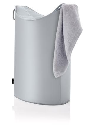 FRISCO, Tvättkorg, Silvergrå