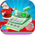 Christmas Store Cash Register icon