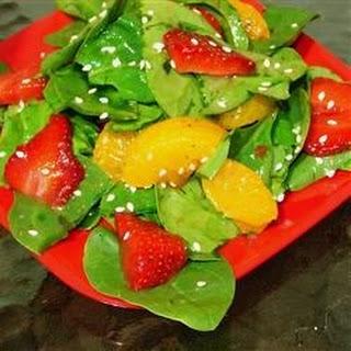 Strawberry Spinach Salad III.