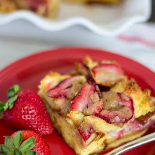 Strawberry French Toast Bake.