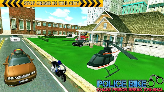 US Police Bike Chase Bitcoin Robber Android 11