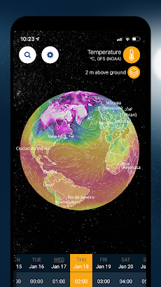 Ventusky: 3D Weather Mapsのおすすめ画像1