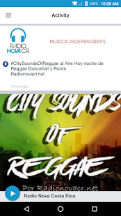 Radio Nova Costa Rica- screenshot thumbnail