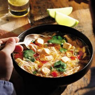 Southeast Asian-Inspired Salmon Soup