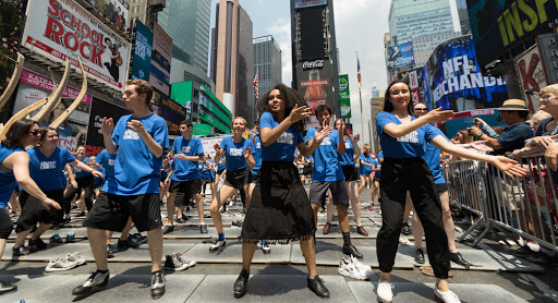 The American Tap Dance Foundation's 'Tap it Out' returns to the heart of the theater district
