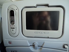 Photo: Entertainment system on 787