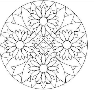 Mandala coloring pages google play