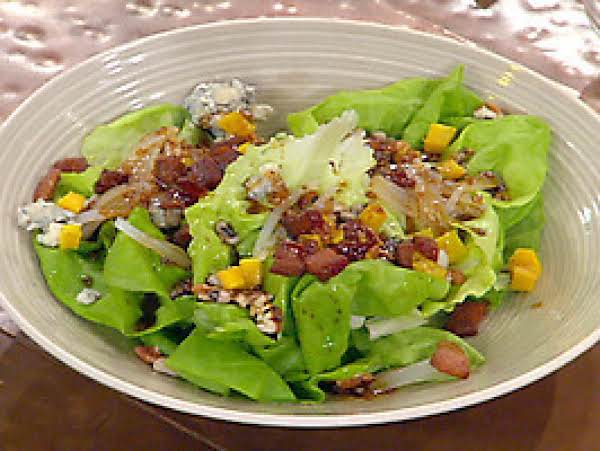 Acorn Squash Salad With Bacon Vinaigrette Recipe