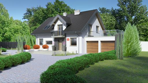 projekt Dom przy Alabastrowej 11