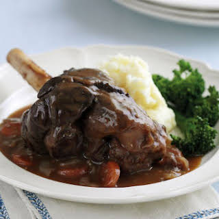 Basic Red Wine Sauce for Beef or Lamb.