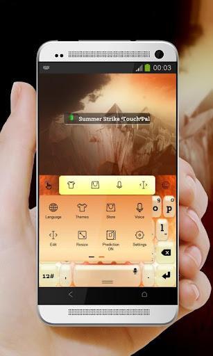 無料个人化Appの夏のストライク TouchPal|記事Game